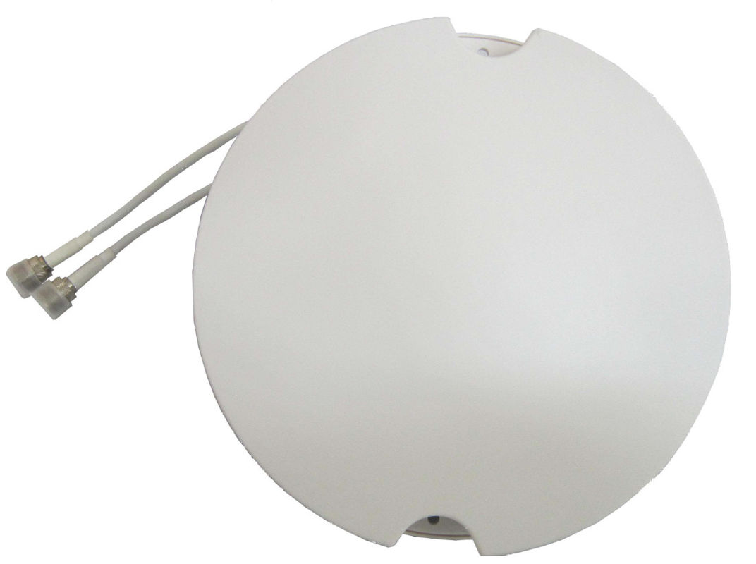 Waterproof Grade IP67 Mimo Ceiling Antenna N Female Connector 3.5 - 5 DBI Gain